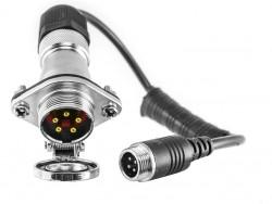 Kit raccord caméra de recul pour semi-remorque